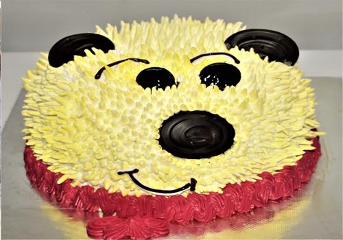 Polar Bear Caramel Cake